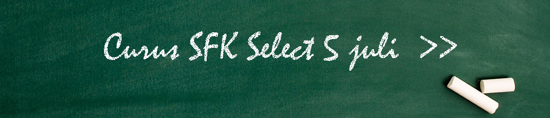 Cursus SFK Select 8 maart