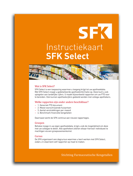 SFK Select instructiekaart