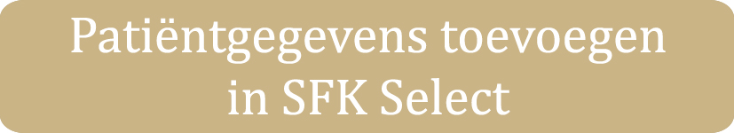 Patientgegevens tonen in SFK Select